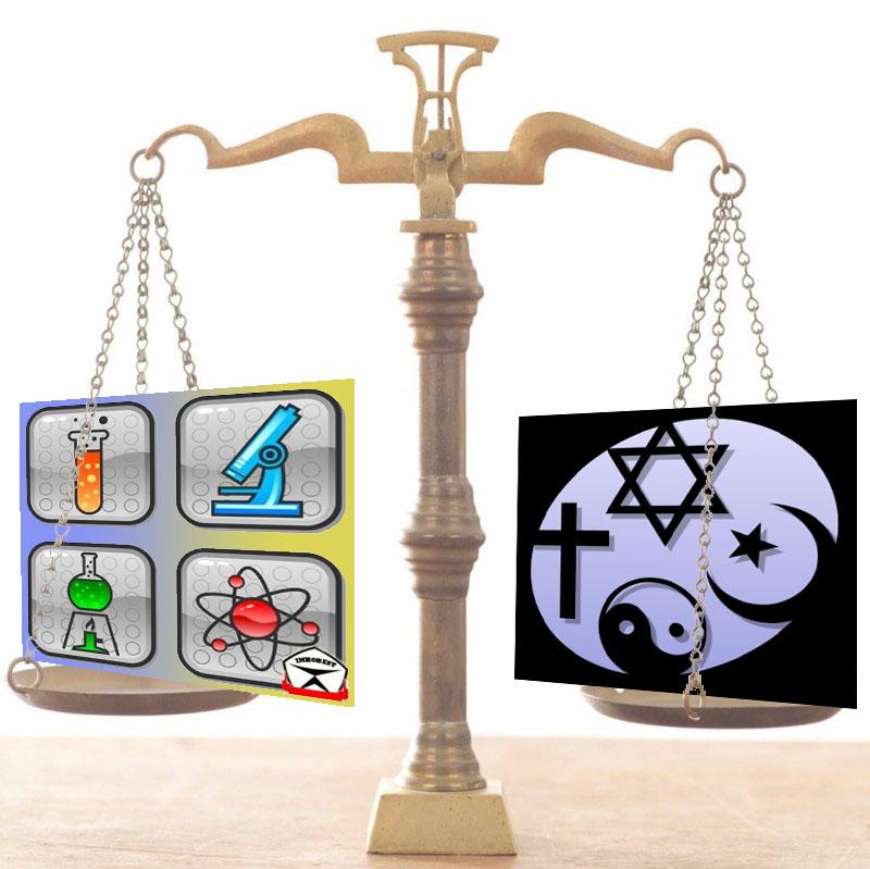 Наука против религии