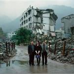 На обломках землетрясения