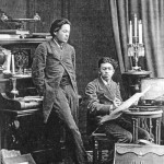 Антон Павлович Чехов и его брат Николай