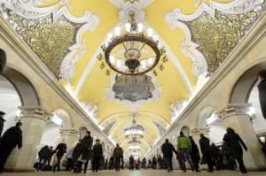 Комсомольская в Москве