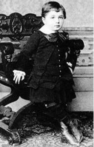 Альберт в детстве