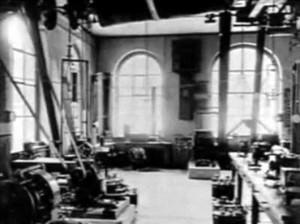 Одна из его больших лабораторий  Политехникума