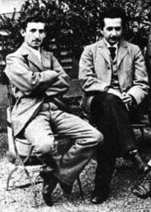 Марсель Гроссман и Альберт Эйнштейн