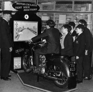 Тест на проверку реакции мотоциклистов