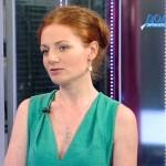 Юлия Шахновская в эфире телеканала «Дождь» © Телеканал «Дождь»