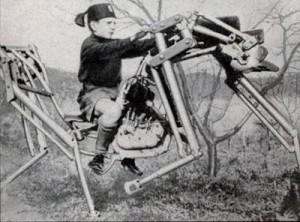Мотолошадь для обучения верховой езде (Италия, 1933)
