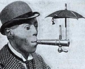 Мундштук для курения во время дождя (1931)