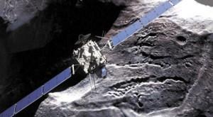 «Розетта» вблизи кометы Чурюмова— Герасименко