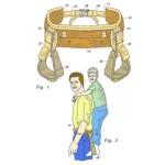 Седло для папы, патент выдан в 2002 году