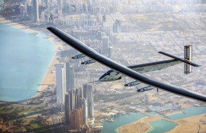 Первое путешествие вокруг Земли на самолете с солнечными батареями