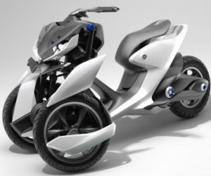 Yamaha показала прототипы трехколесного мотоцикла будущего