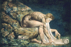 «Ньютон». Уильям Блейк, 1795. Тейт Британия