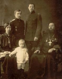 Семья священнослужителя, конец XIX ― начало XX века (источник: http://russiahistory.ru)