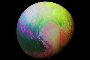 Цветное изображение Плутона Изображение: NASA