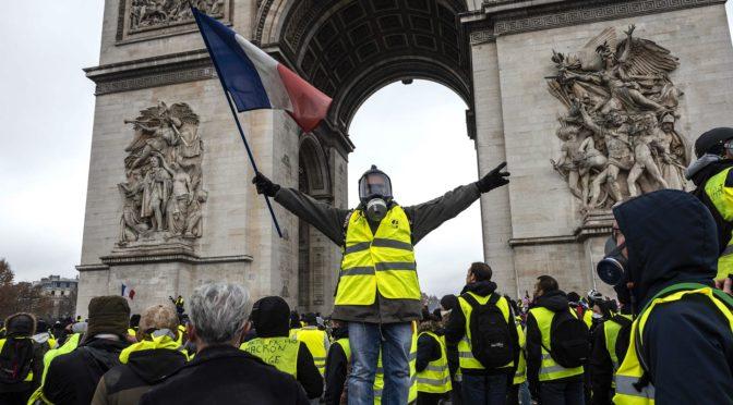 «Тощий народ»: Французы против полицейского государства