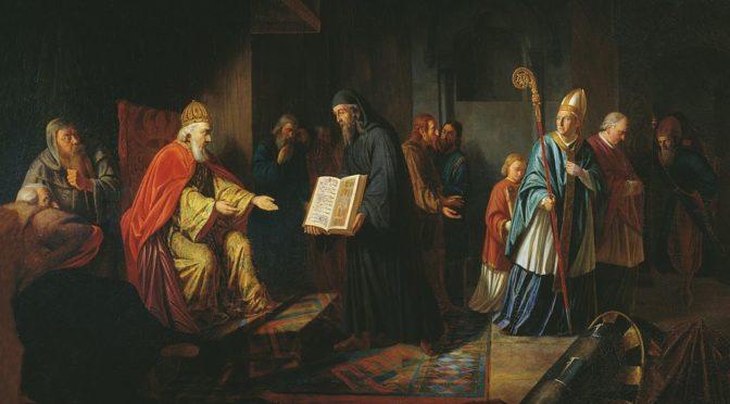 Раскол церкви: католичество и православие