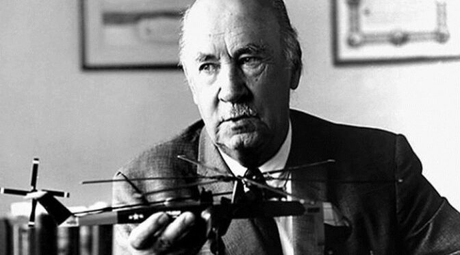 Авиаконструктор Сикорский в 1930-40-х о мире 1980 года